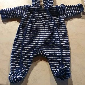 Size 000 Nordstrom baby quilted winter onesie
